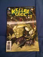 BATMAN AND ROBIN #23.4 KILLER CROC #1 3-D LENTICULAR COVER 1ST PRINT [DC, 2013]