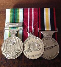 Replica medals set of 3 ASM ADM Timor Leste +ribbon bar