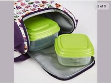 Fit & Fresh Kids' Morgan Insulated Lunch Bag Set with Reusable Containers NEW