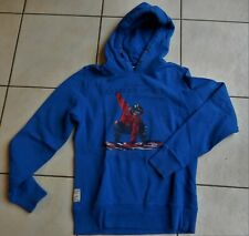 RIVER WOOD Sweat à capuche bleu surf 14 ans