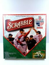 BOSTON RED SOX 2007 WORLD SERIES EDITION SCRABBLE BOARD GAME SEALED