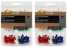 216 Count Push Pin Assortment Multi Color 38 Head