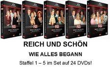 REICH UND SCHÖN - Staffel 1+2+3+4+5 KOMPLETT, 24 DVD Set NEU + OVP!