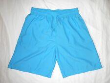 Men's Shorts Casual Board Swim Trunks Running Training Basketball Sold Aqua Blue