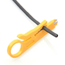 Plastic Yellow Strip Data Cable Wire Punch Down Cutter Stripper Home Equipment