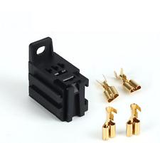 2pcs Relay Base Automotive Suits 4  &  Relays 12V 24V + 4Terminals