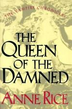 Anne Rice~THE QUEEN OF THE DAMNED~1ST/DJ~NICE COPY