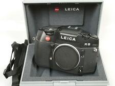 Leica R8 black body Gehäuse Nr. 2725687 schön nice + Gurt Strap + Schatulle