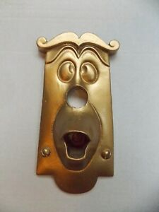 ALICE IN WONDERLAND USED BASE PLATE CHARACTER DOOR KNOB