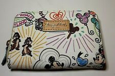 "New ListingDooney & 'Bourke Disney Parks ""Sketch"" Small Wallet"