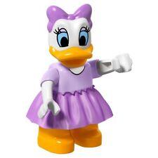 LEGO - Duplo Figure - Daisy Duck w/ Lavender Top & Skirt - Orange Legs