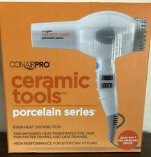 Conairpro Ceramic Tools Porcelain Series Dryer, 2000 Watts, NIB