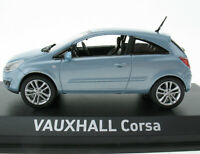 NOREV - VAUXHALL Corsa - hellblau metallic - 1:43 in OVP / Box Modellauto