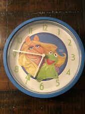 Miss Piggy And Kermit The Frog Clock