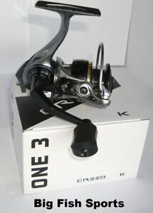 13 FISHING One 3 Creed K 3000 Spinning Reel NEW! #CRK3000 FREE USA SHIPPING!