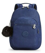 Kipling CLAS SEOUL S Backpack with Tablet Compartment - Cotton Indigo