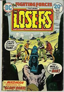 OUR FIGHTING FORCES # 147 (DC, 1974) – The Losers – Capt. Storm –