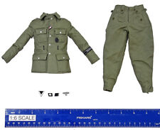 Baldric MG34 Gunner - Uniform w/ Patches - 1/6 Scale - DID Action Figures