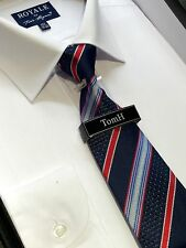 Tom hagan shirt and tie (16.5 in) White RRP £24.99 work wedding smart formal