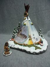 """""""Sacred Spirits"""" Teepee Style Hawthorne Village Collection Ted Blaylock"""