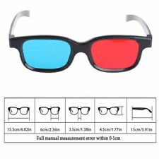 Fashion 1pc Red Blue 3D Glasses For Dimensional Anaglyph Movie Game DVD