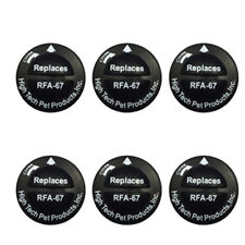 Replacement Battery for Petsafe Model RFA-67 - 6 Pack from HIGH TECH PET