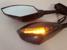 New Turn Signal Integrated Mirrors for Yamaha YZF 600 R1 FZR600 FZ1 FZR CARBON