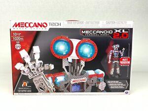 Meccano Erector Meccanoid XL 2.0 Robot Building Toy Kit, STEM Education, 4ft