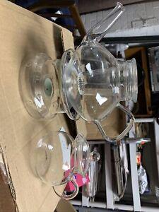 Vintage German Jenaer Glas Glass Teapot