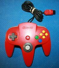 Red Nintendo N64 Controller