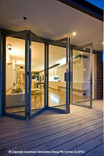 Custom Made Aluminium Bifold (Bi fold) Doors - Any Size, Colour or Configuration