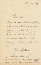 VICTORIEN JONCIERES French Composer autographed content letter & photo
