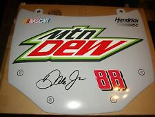 Dale Earnhardt Jr Mountain Dew Replica Hood 28x24 wall hanger Nascar Racing Nice