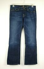 7 For All Mankind Women's Jeans Bootcut Stretch Size 29 Measures 33x32