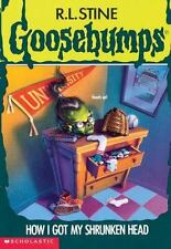 Goosebumps: How I Got My Shrunken Head No. 39 by R. L. Stine (1996, Paperback)