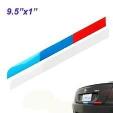 """9.5"""" Tri-Color Stripes Sticker Decal For BMW Bumper Trunk M Performance"""