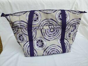 Thirty one Fresh Market Thermal Picnic Purple Tote Bag 31 gift