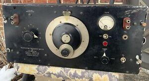 HETERODYNE FREQUENCY METER AND CALIBRATOR - GENERAL RADIO TYPE 620-A - WWII ERA
