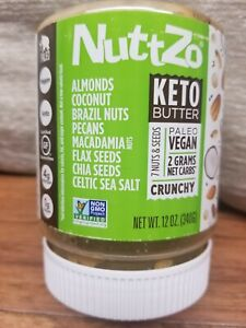 Keto Butter, 7 Nuts & Seeds, Crunchy, 12 oz (340 g) New and Sealed