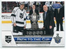 2012-13 Certified Patch to the Cup Conference Trophy 2 Dustin Brown 39/99