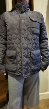 mens firetrap quilted jacket size L shop worn