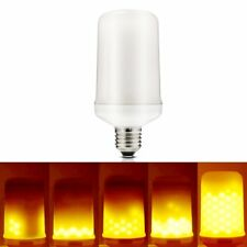 E27 4W LED SMD 1595K Fiamma Yellow Corn Light Lamp Bulb Flickering Warm White