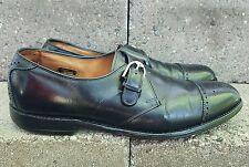 Allen edmonds Hillsboro black monk strap men's shoes size 11.5 A narrow