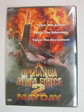 Operation Delta Force 2: May Day (DVD, 1999) BRAND NEW  FACTORY SEALED FREE SHIP