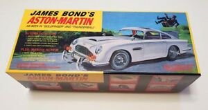 Gilbert James Bond 007 Aston Martin Empty Box for Battery Operated Toy 1965 type