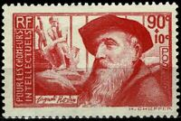 FRANCE 1937 Auguste RODIN YT n° 344 neuf ★★ luxe / MNH