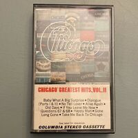 Chicago Greatest Hits Vol II 2 1981 Hard Classic Rock Roll Cassette Tape Pop