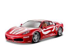 Bburago 26009 Ferrari F430 Fiorano rojo/Blanco Escala 1:24 Coche a ¡NUEVO! °