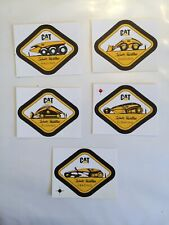New listing nice set of cat surface mining equipment stickers