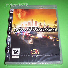 NEED FOR SPEED UNDERCOVER NUEVO Y PRECINTADO PAL ESPAÑA PLAYSTATION 3 PS3